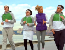 DOMİNOS PİZZA | Jogging