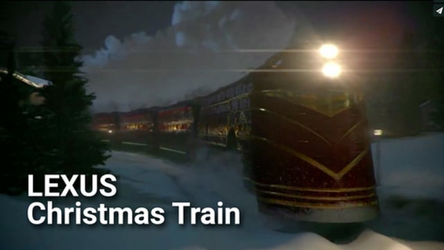Lexus – Christmas Train