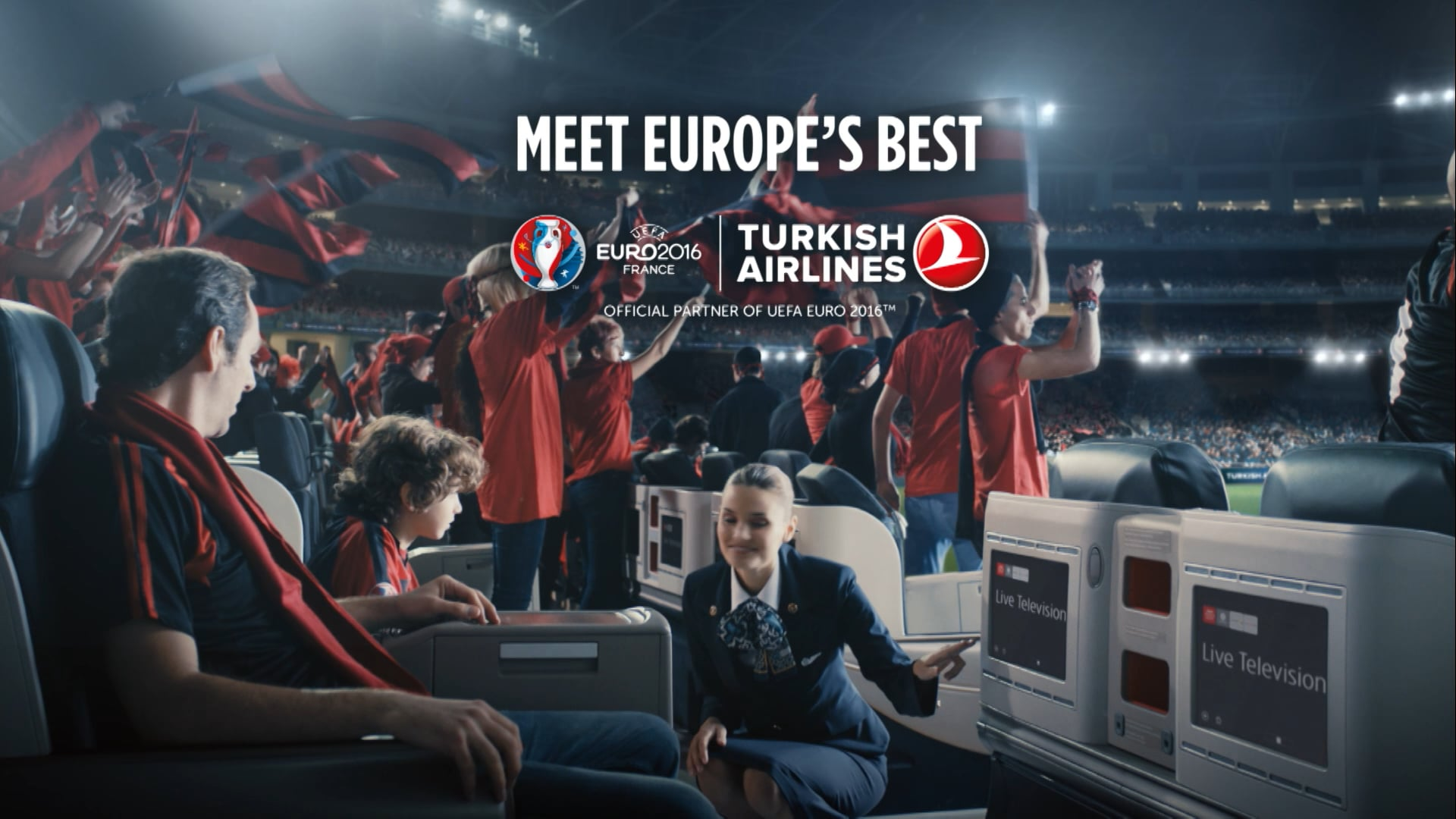 "Turkish Airlines | Euro 2016 (10""x7)"